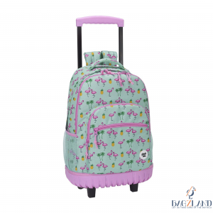 flamant rose cartable bagzland
