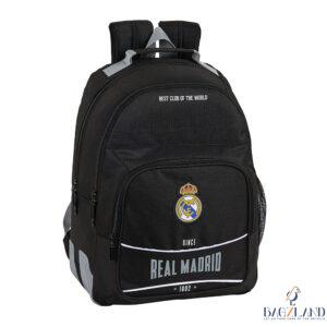 Sac à dos Real Madrid Black 42 cm double compartiment
